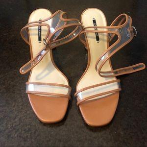 Zara Shoes - Zara Clear Heel